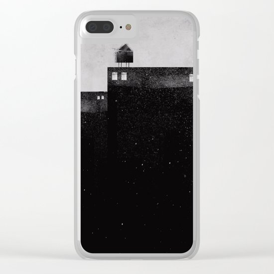 City steps Clear iPhone Case