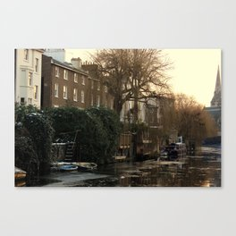 Sunset In Camden Canvas Print