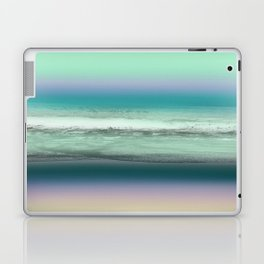 Twilight Sea in Shades of Green and Lavender Laptop & iPad Skin