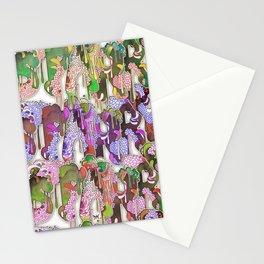 Starry Alphabet Stationery Cards