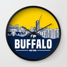 BUFFALO SKYLINE Wall Clock