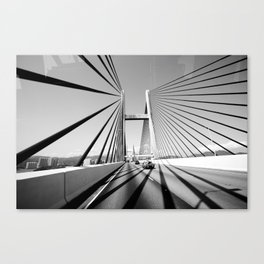 HongKong Bridge Canvas Print