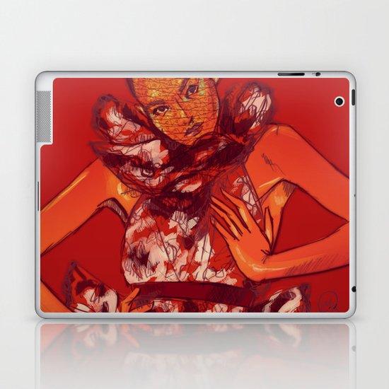 i bring you flowers Laptop & iPad Skin