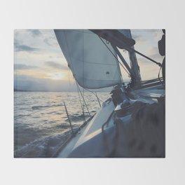 Boat Life Throw Blanket