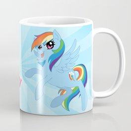MLP FiM: Rainbow Dash Coffee Mug