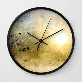 New Day Yesterday Wall Clock