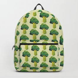 broccoli simple pattern Backpack