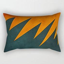 Leviticus 26:27-28 Rectangular Pillow