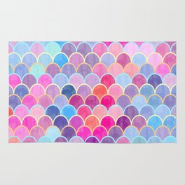Watercolor Lovely Pattern VIII Rug