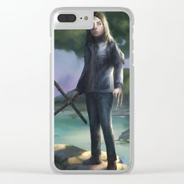 Laura Kinney Clear iPhone Case