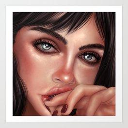 Deep Eyes Art Print