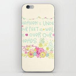 Sweet Sayings 2 iPhone Skin