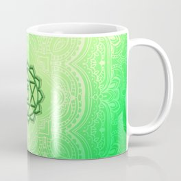Heart Chakra by Golden Ascension Coffee Mug