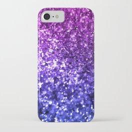 Midnight Glitter iPhone Case