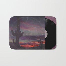 Darkness In The Desert - America As Vintage Album Art Bath Mat