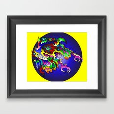 The Unknowing Framed Art Print