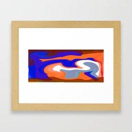 Olitski Framed Art Print