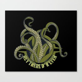 Nerdy - Lovecraft R'lyeh Canvas Print