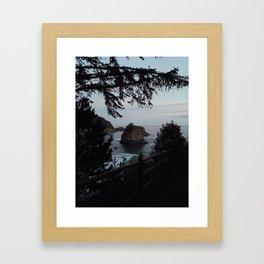 Samuel H. Boardman State Park Framed Art Print