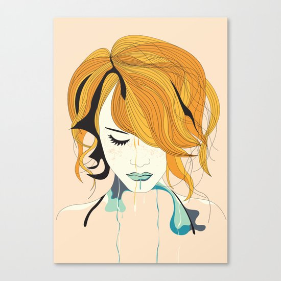 Girl Two Canvas Print