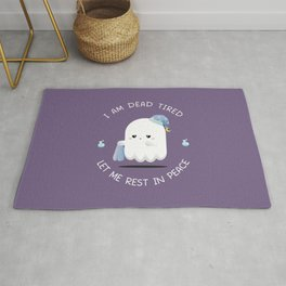 Tired Ghost Rug