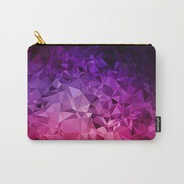 Ultra Violet Diamond Rainbow Carry-All Pouch