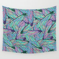 wings Wall Tapestries featuring Wings by AnaAna