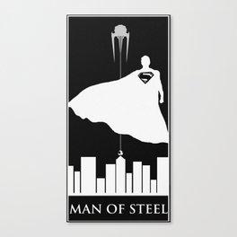 Man of Steel Art Canvas Print