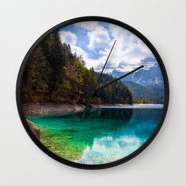 Tovel Lake Wall Clock