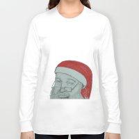 santa Long Sleeve T-shirts featuring Santa by unicorned