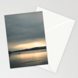 Falls of Lora, Scotland Sea Sunset Stationery Cards