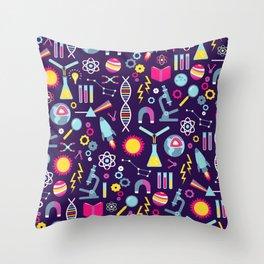 Science Studies Throw Pillow
