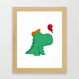Dinoboy Framed Art Print