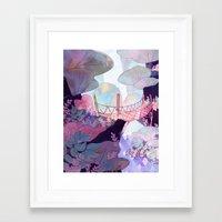 bridge Framed Art Prints featuring Bridge by sarlisart