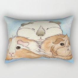 Guinea Pig Cuteness Rectangular Pillow