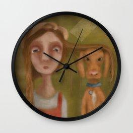 Lita und Laszlo Wall Clock