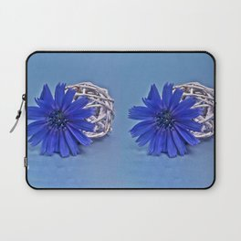 Still life with chicory flower Laptop Sleeve