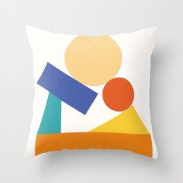 As a child Throw Pillow
