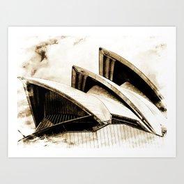 Sydney Opera House  Collection IV Art Print