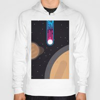 playstation Hoodies featuring Meteor by eARTh