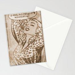 I feel free 4 Stationery Cards