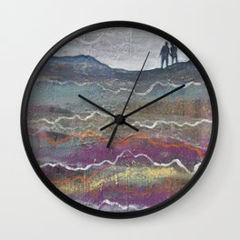 Ghosts of Who We Used to Be Wall Clock