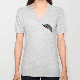 Mosaic Bird Unisex V-Neck