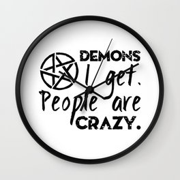Demons I get Wall Clock