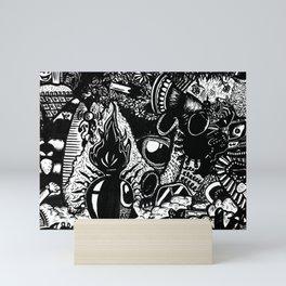Abstrart_1 Mini Art Print