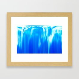 dream waterfall Framed Art Print