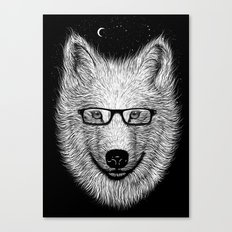 WHITE SPECTACLE Canvas Print