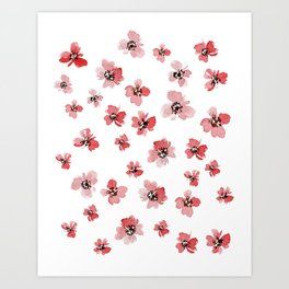 Wild Poppies Art Print