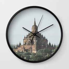 Bagan Temples Wall Clock
