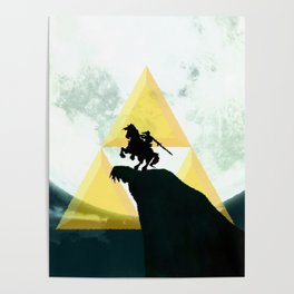 The Horse Of Triforce Poster